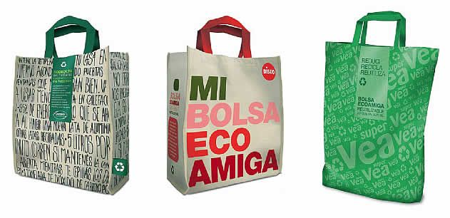 Bolsas Diseñadas Reutilizables Y Chile Argentina En aTHpa