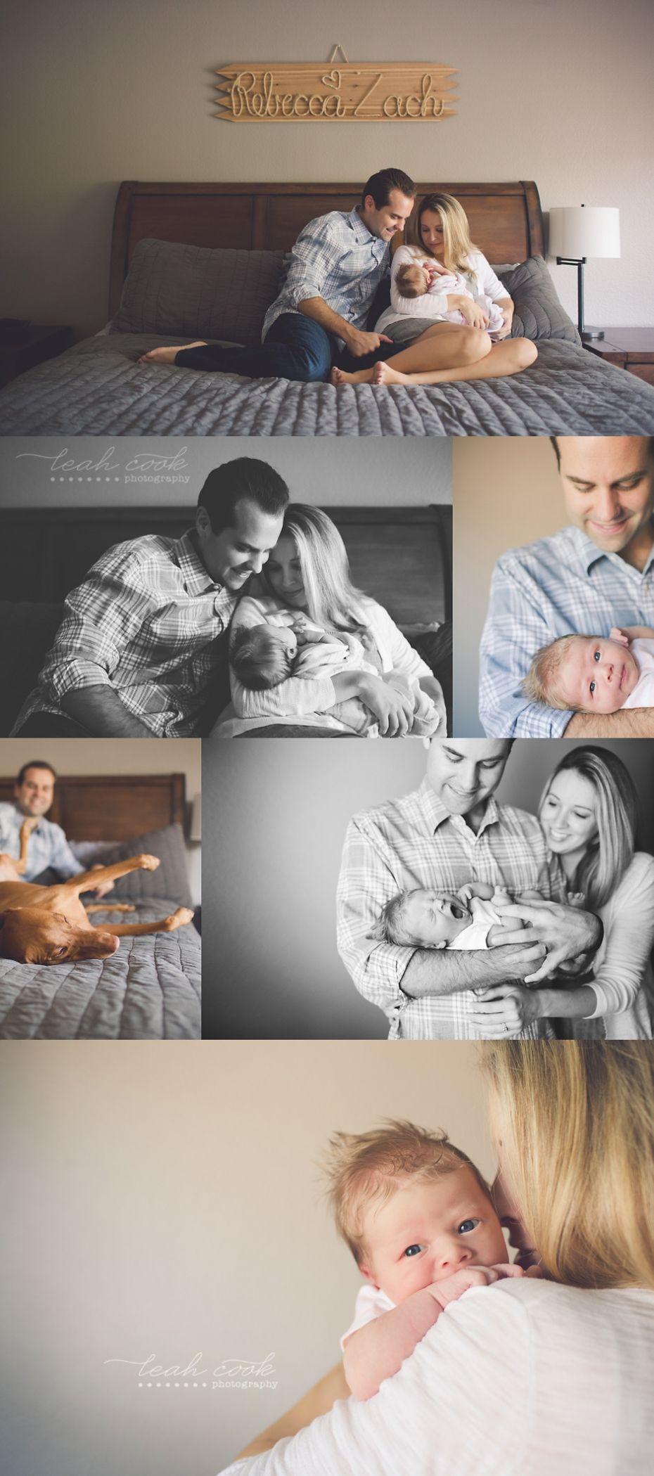 Awake Newborn Family Photos Dallas Newborn Photographer