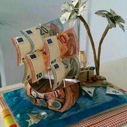 Geld Liebevoll Verpacken Schiff Ros1 Gifts Presents Und Diy Gifts