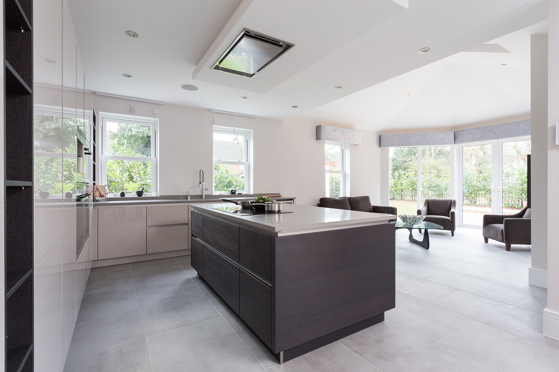 Nolte Glas Tec nolte kitchens kitchens open plan and showroom