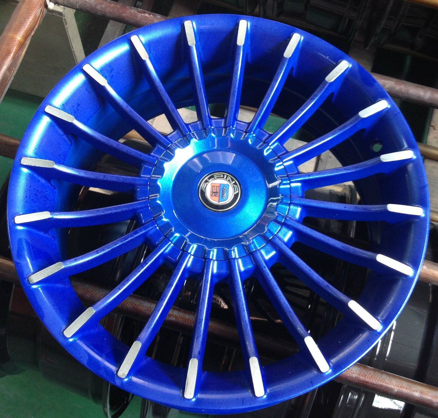 15 16 17 Inch Alpina Alloy Wheel In 2020 Alloy Wheel Alloy Wheels Repair Toyota Rims