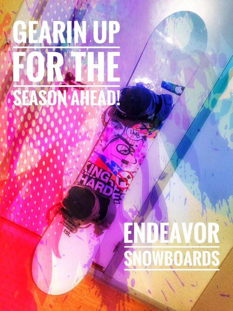 Tähän aikaan vuodesta se alkaa. Lautakauden kuumotus. #boardexpo:kin viikonpäästä #endeavorsnow
