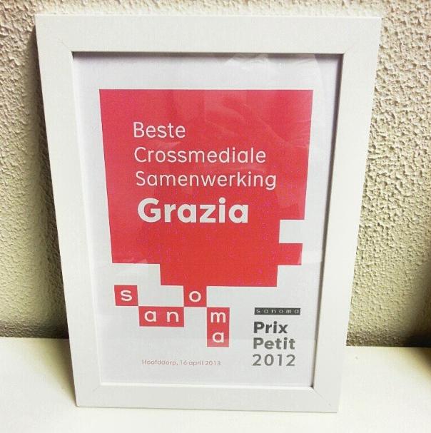 Prijs voor beste crossmediale samenwerking