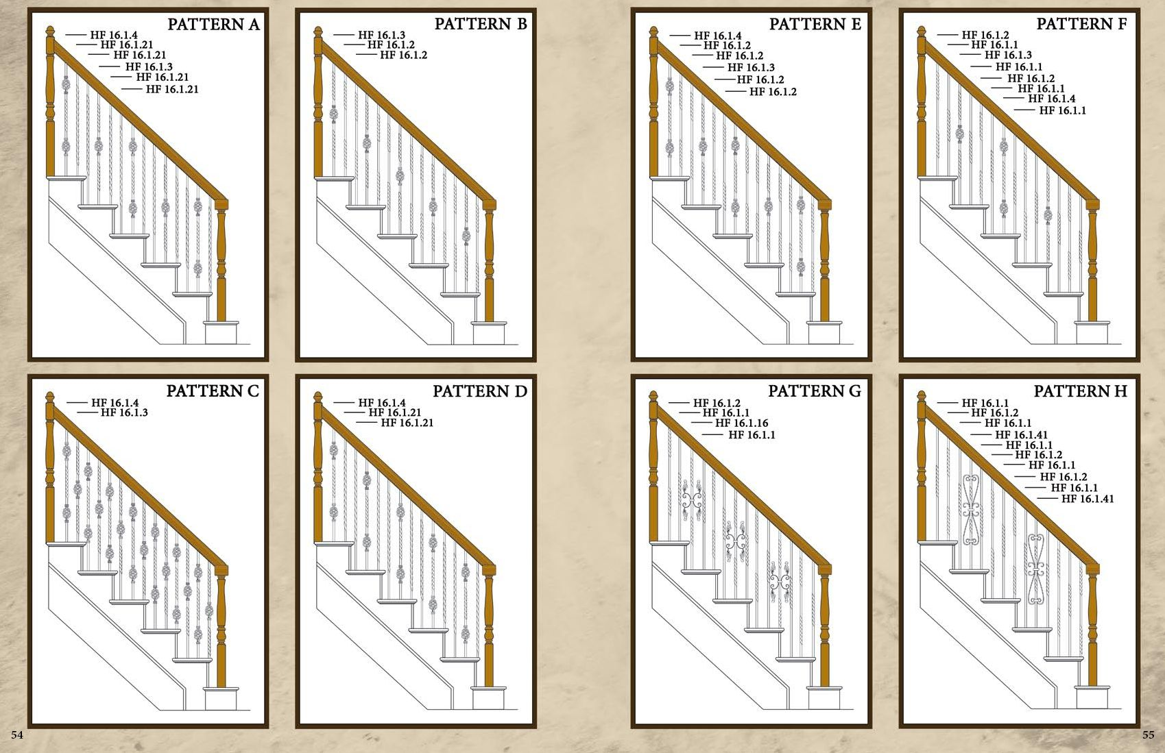 Best Stairs With Metal Balusters Iron Balusters Twist And 400 x 300