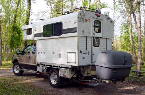 Off Grid Gear Report Slide In Camper Pop Up Trailer Pickup Camper