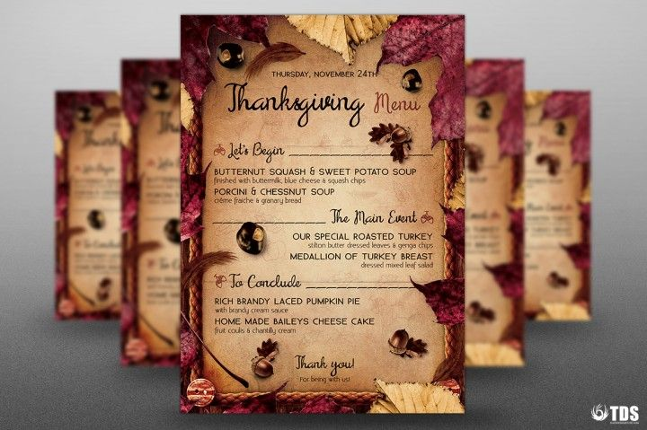 thanksgiving menu template v3 menu templates thanksgiving menu