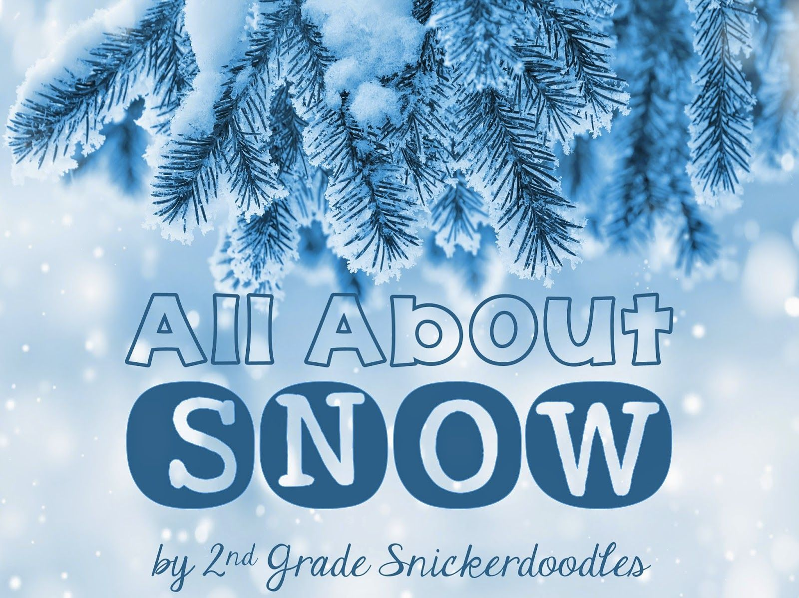 2nd Grade Snickerdoodles All About Snow Giveaway