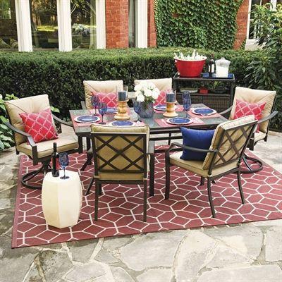 Garden Treasures Outdoor Dining Set