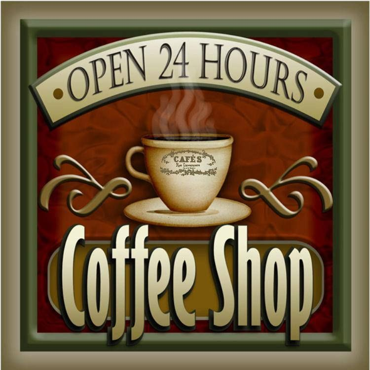 Coffee Shop Open 24 Hs Coffee Art 24 Hour Coffee Shop Coffee Shop