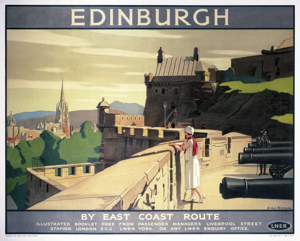 Isle Of Skye 4 British Railway Travel LNER Old Vintage Retro Advert Poster Photo