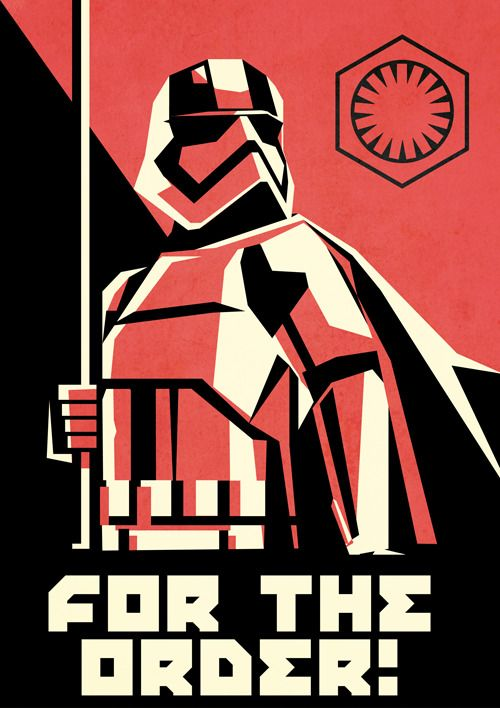 First Order Propaganda Poster Star Wars Star Wars Poster Star Wars Trooper Star Wars Empire