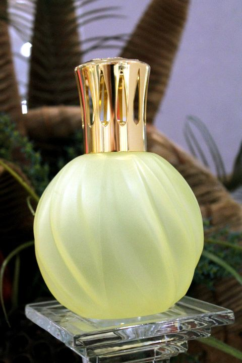 Yellow Swirl Lampe Berger, $34.75