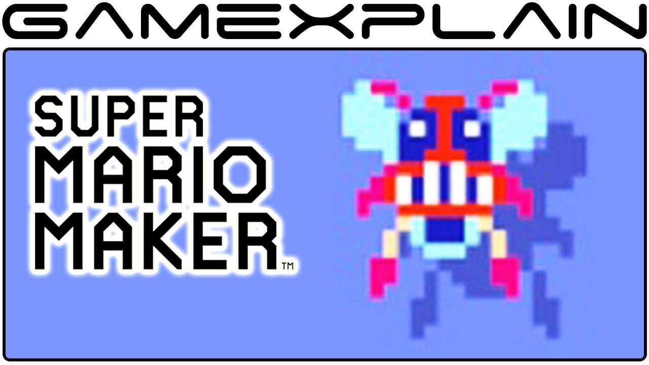 Mario Bros  Fighter Fly Costume in Super Mario Maker (All Animations
