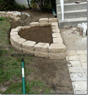 Front Yard Retaining Wall Garden Edging Front Yard Landscaping