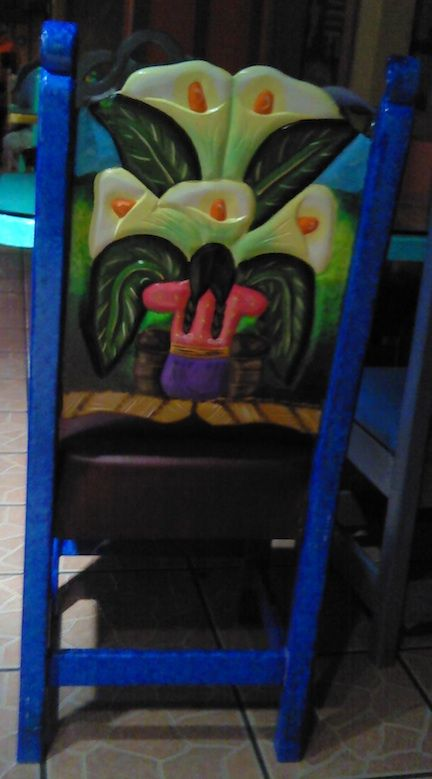 Mexican Furniture Pretty Sure This Is A Chair From Restaurant In Fremont Ohio
