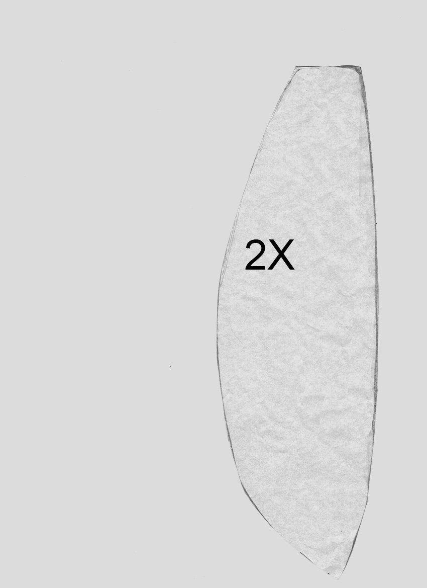 molde_bandana_3.jpg (850×1169) | corset | Pinterest | Costura, Molde ...