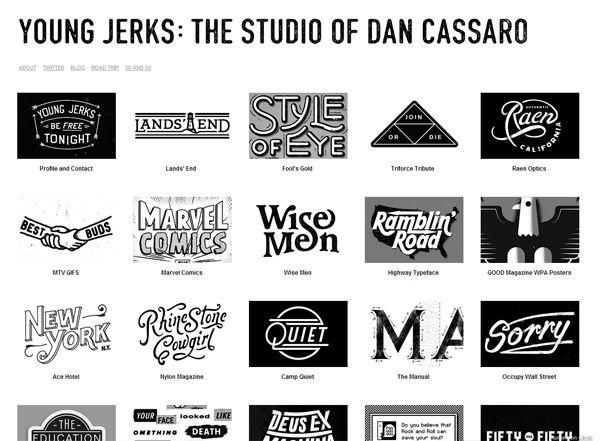 Loud Clear Minimalist Website Design Inspiration Dan Cassaro Minimalist Web Design Web Design Website Design