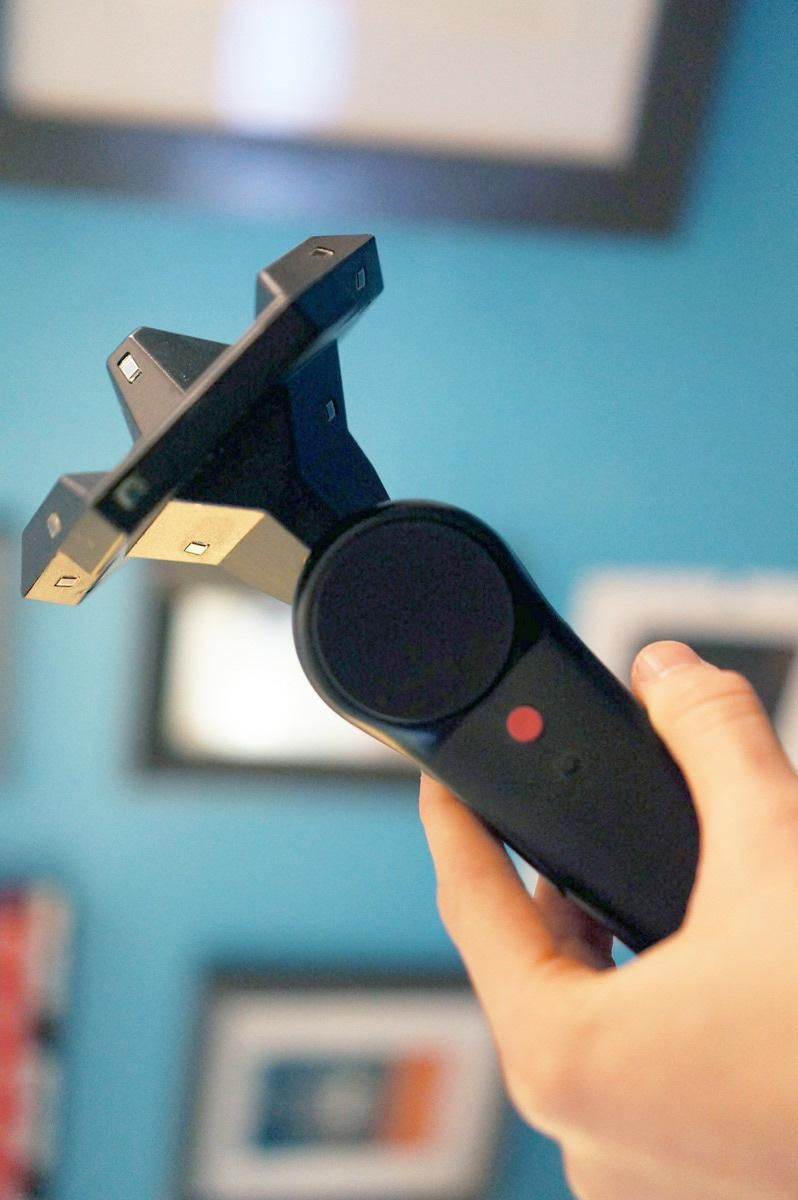 The HTC Vive controller