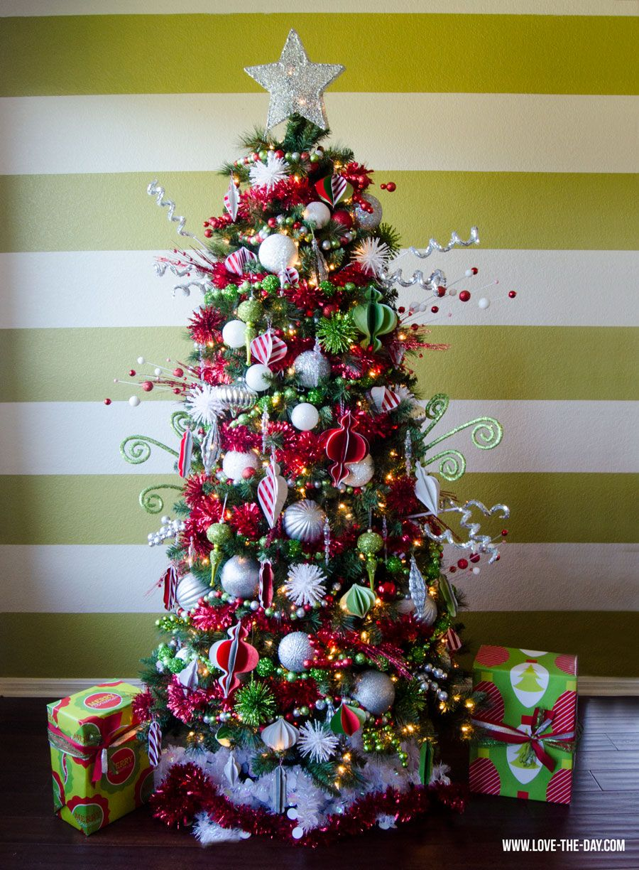 whimsical christmas tree decorating ideas michaels makers - Michaels Christmas Decorations