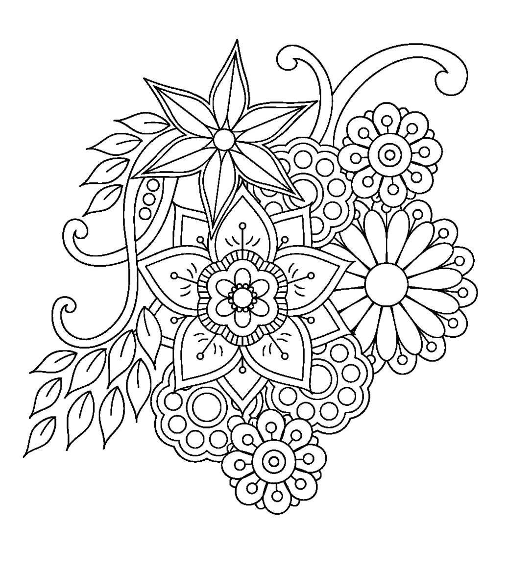 Room Decor Coloring Page