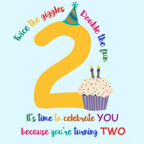 Happy 2nd Birthday 1st Birthday Wishes Birthday Wishes Boy Happy Birthday Kids