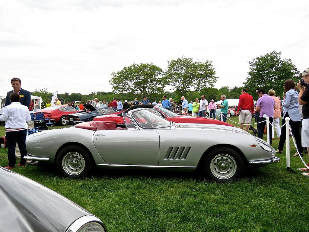 Ferrari 275 nart spider silver 9