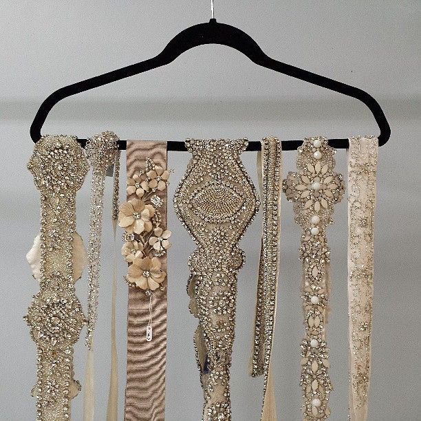 Bridal Belts! Wedding and accessory belts from Alta Moda. | If Love ...
