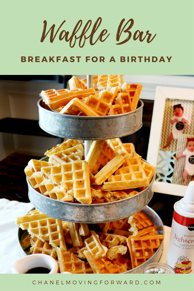 Waffle bar breakfast ideas ideas for breakfast for Food bar ideas for a party
