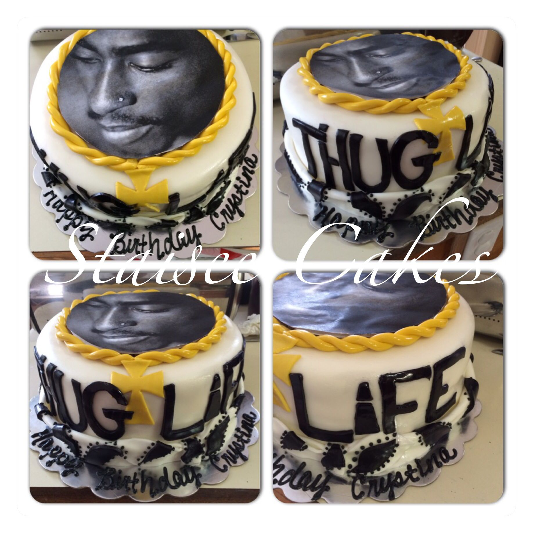 Tupac Cake Staisee Cakes In 2018 Pinterest Cake Birthday And