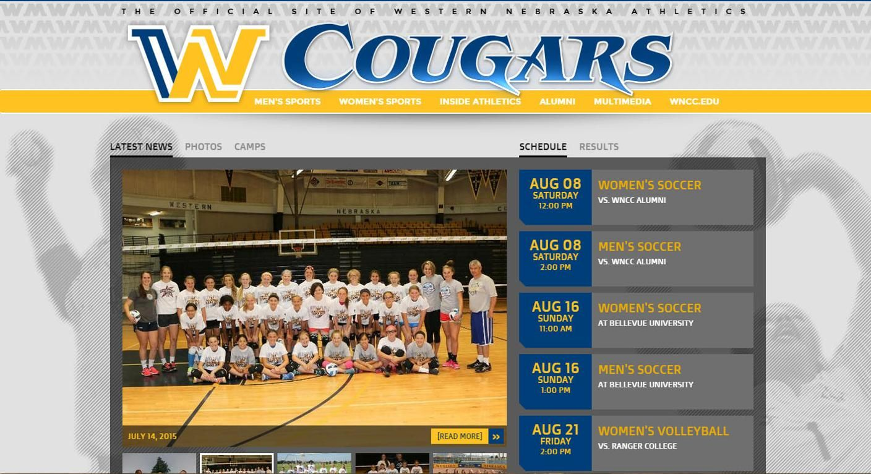 Wncc Athletics Launches New Website At Wnccathletics Com Sports Website Athlete Western Nebraska