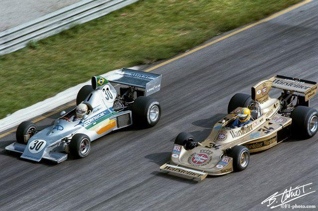 1975 GP Włoch (Arturo Merzario Copersucar FD03 - Ford & Harald Ertl Hesketh 308 - Ford)