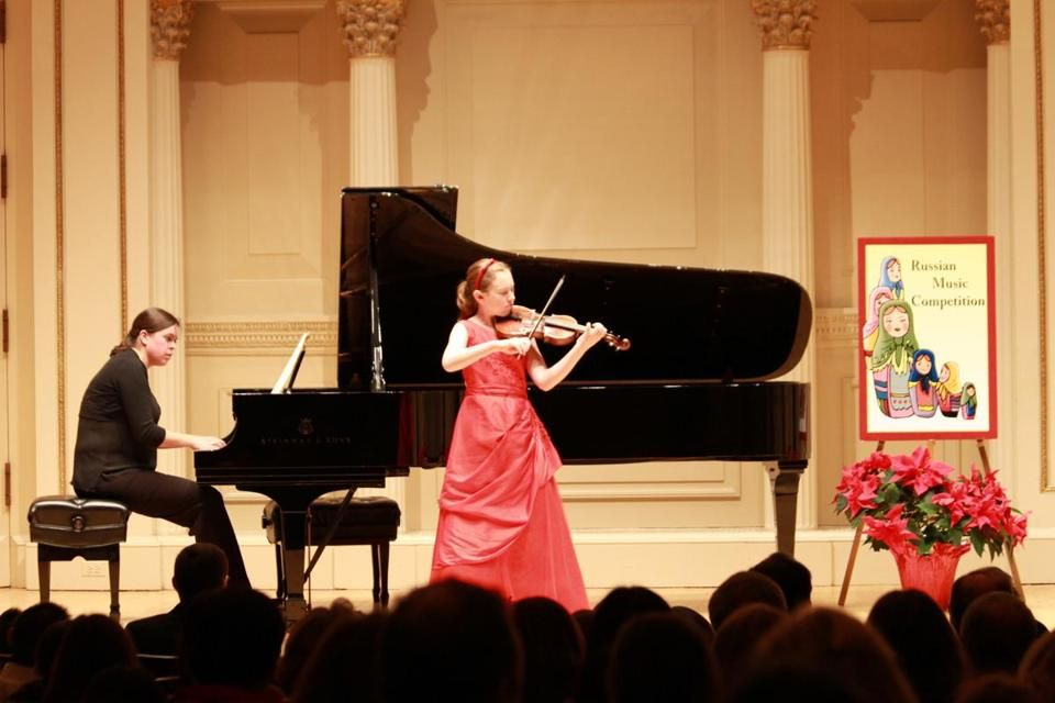 Winning violinist, 11, says she'd rather pursue science