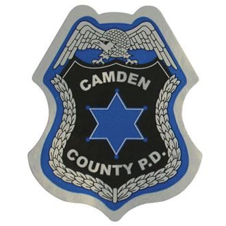 Junior Police Officer Foil Sticker Badge, Custom | Kids