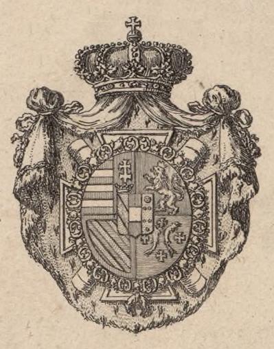 Coat of Arms of Archduke Charles of Austria, Duke of Teschen (1771 ...