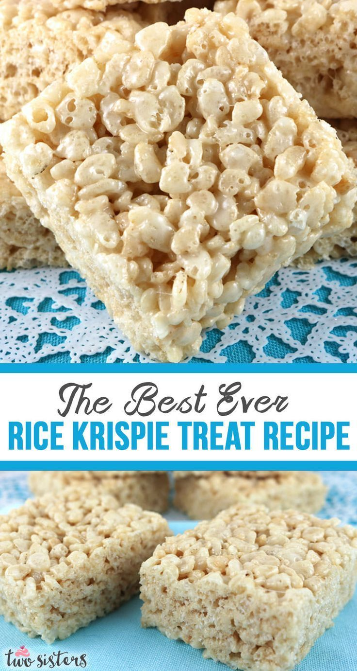 Best Ever Rice Krispie Treat Recipe