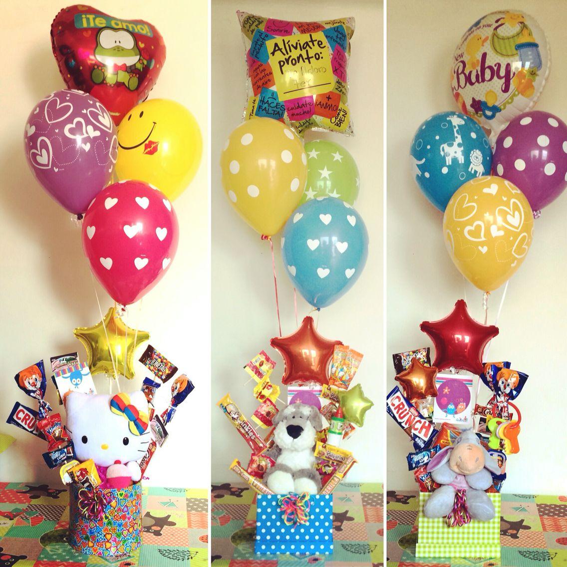 Amor, cumpleaños, nuevo bebé, enfermitos y más ocasiones con Cositos!