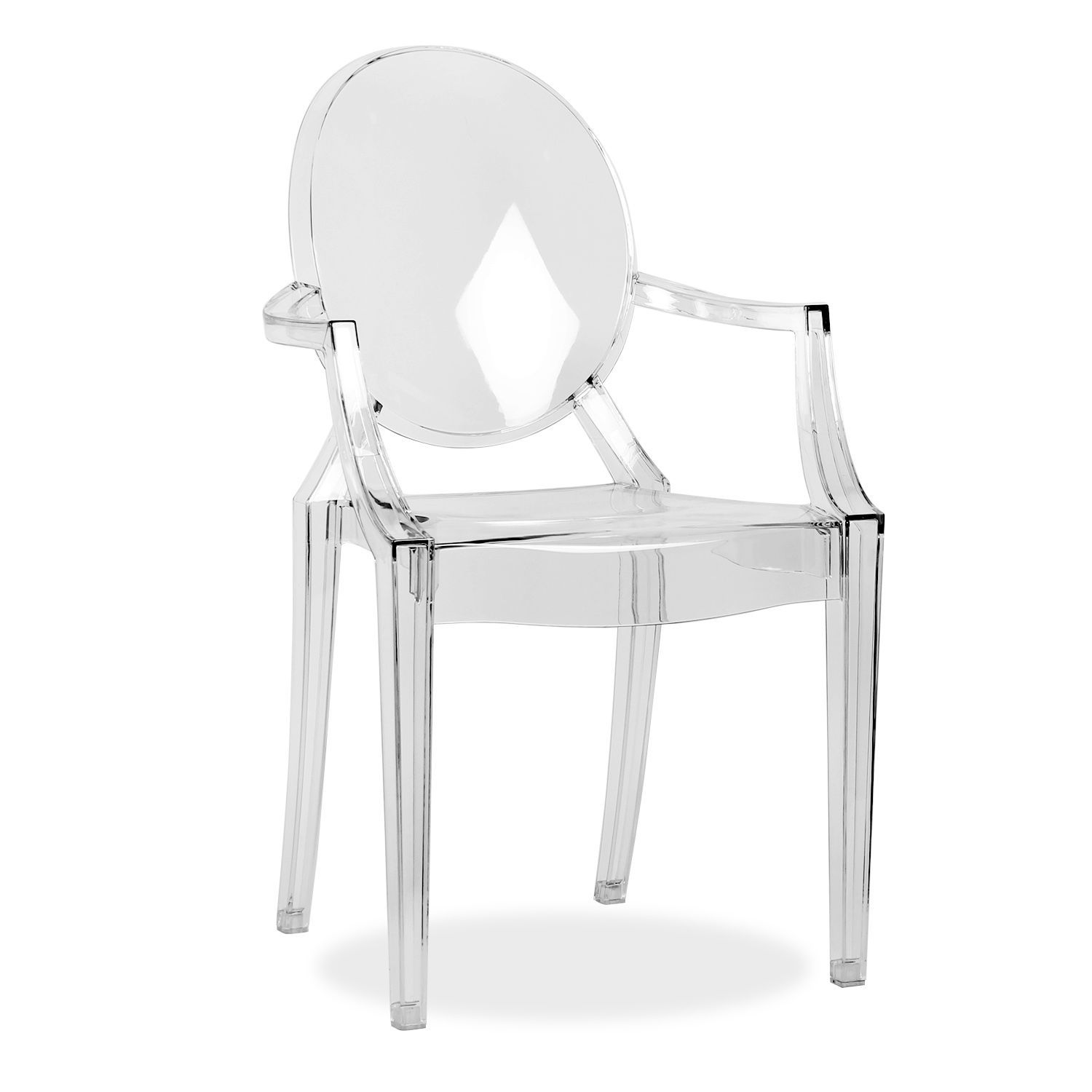 Chaises Polycarbonate Starck Chaises Louis Ghost Fauteuil Louis Ghost Kartell Made In