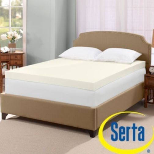Details About Serta Ultimate 4 Inch Visco Memory Foam