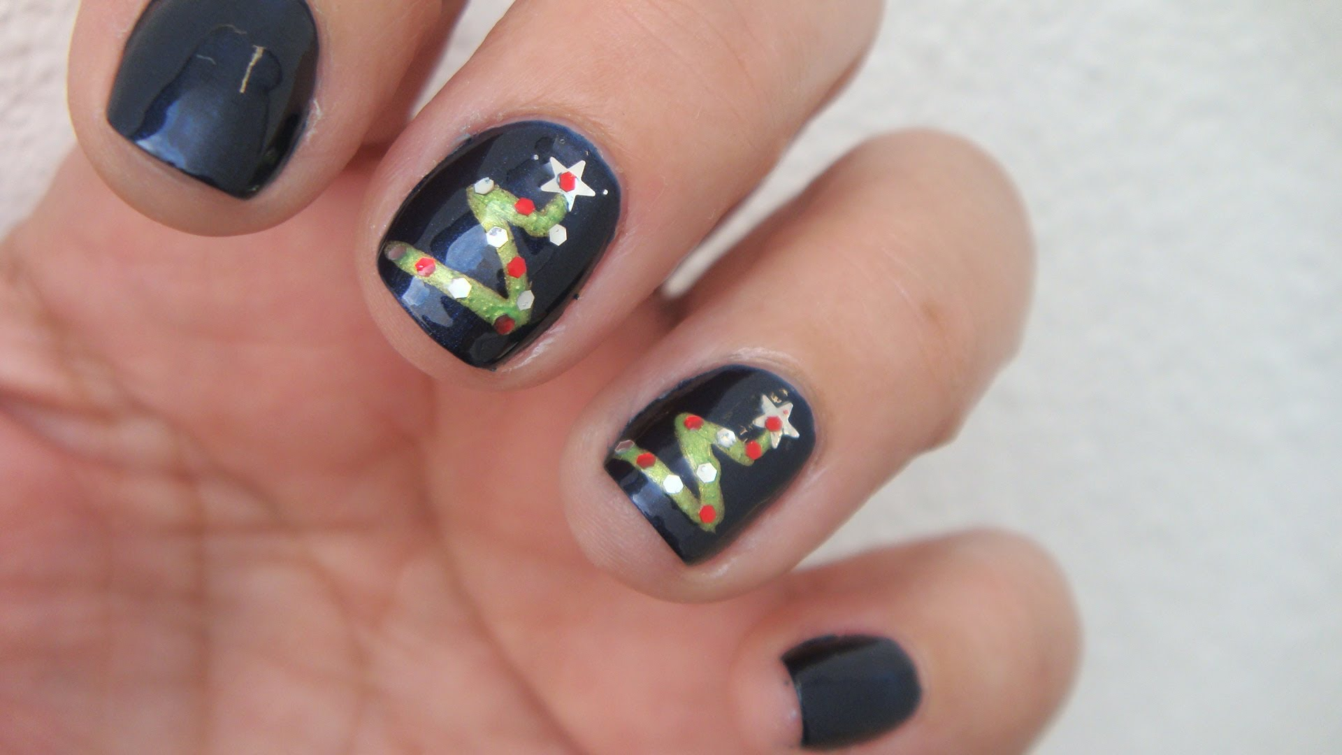 I Would Do Just One Like This Manicures Pinterest Tree Nail