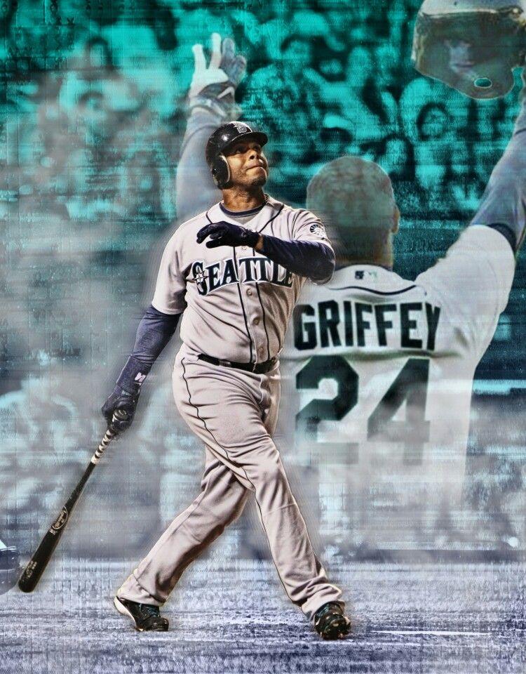 78eb3beafc Ken Griffey Jr. #24 Baseball Art, Baseball Players, Sports Art, Sports