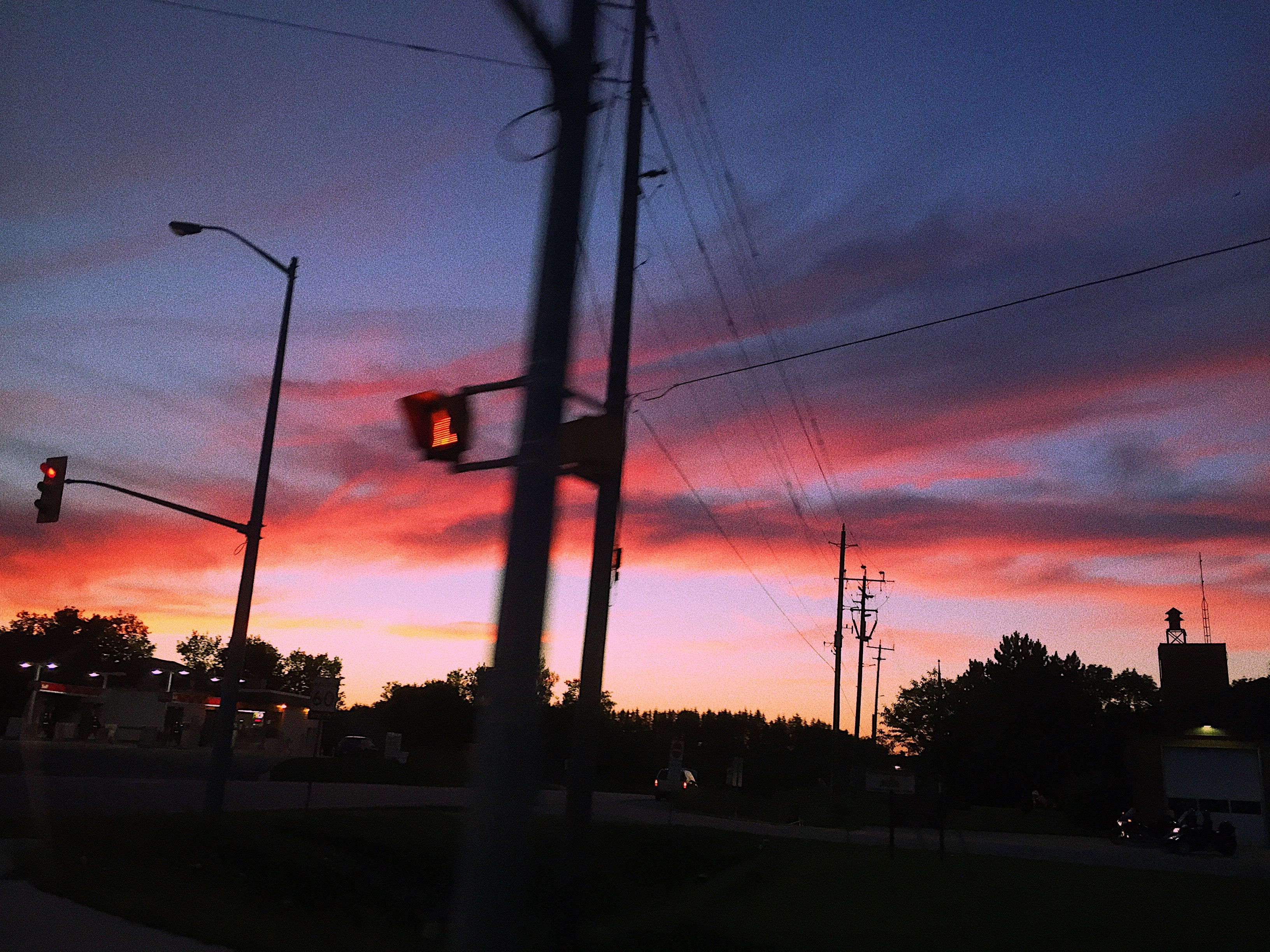 Pinterest Gaelynhoran Sunset Photography Aesthetic Stop Light Pretty Views Colorful Sky Aesthetic Pretty Sky Sky Photography
