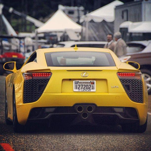 Lexus Lfa Yellow: Unbelievable LExus LFA Yellow!