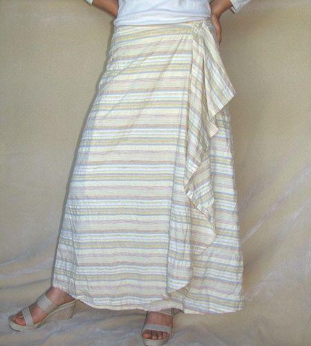 JMJ wrap skirt