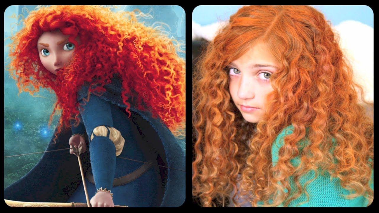 Brave inspired hairstyle tutorial disney pinterest tutorials