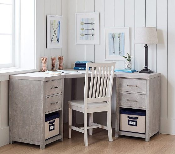 Everett Modular Corner Desk In 2020 Diy Corner Desk Home Office