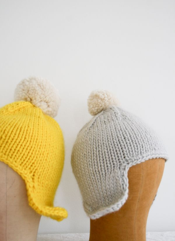 Whit\'s Knits: Cozy Ear Flap Hat - Knitting Crochet Sewing Crafts ...
