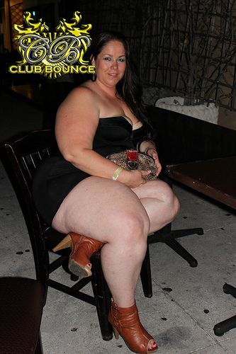 Bouncy ssbbw in the dark