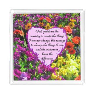 BEAUTIFUL SERENITY PRAYER PHOTO DESIGN SERVING TRAY Be inspired with these uplifting Serenity Prayer designs on Apparel and Gifts http://www.zazzle.com/myheavenlyblessings/gifts?cg=196715163697786629&rf=238246180177746410 #Serenityprayer #LetGoandLetGod #TrustGod #Godisincharge #Recovery #12steps