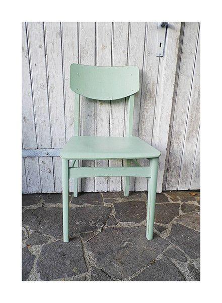 Vintage Stühle Vintage Stuhl Pastell Shabby Chic Ein