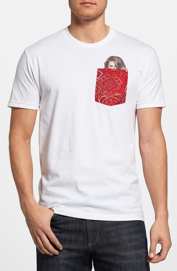 d6688d04 Bandana Pocket Girl' T-Shirt | Men's Clothing | T shirt, Shirts, Men